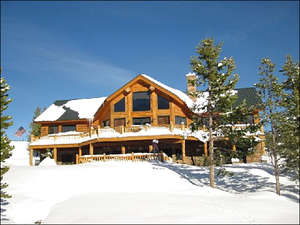 Exterior Winter View