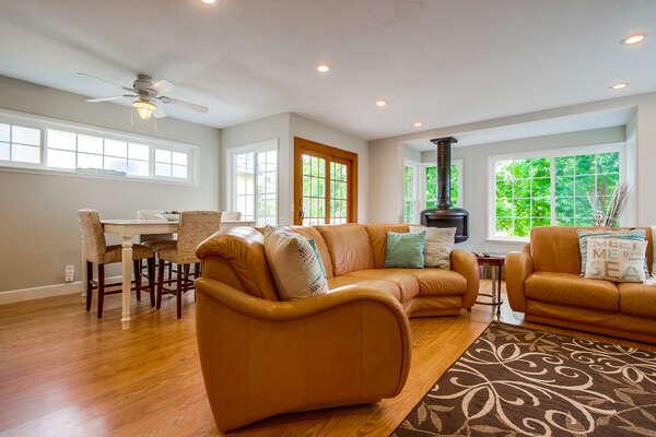 Living Area with Open Floor Plan