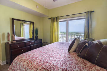 master bedroom, view from dresser