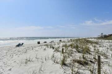 Gulf of Mexico and white sandy beach