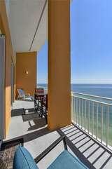 Balcony seating