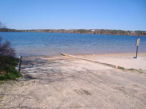Public Boat Launch at Long Pond- just up the Street- .2 tenths of a mile-Harwich Cape Cod - New England Vacation Rentals
