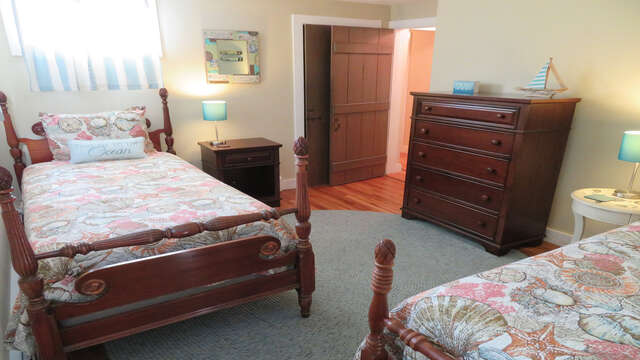 4th bedroom - 2nd floor- 2 Twins-160 Long Pond Drive Harwich Cape Cod - New England Vacation Rentals