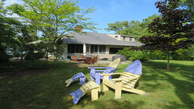 Sit back - relax and enjoy the view! 160 Long Pond Drive Harwich Cape Cod - New England Vacation Rentals