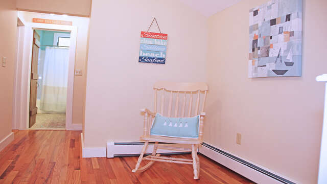 Landing at top of Stairs 160 Long Pond Drive Harwich Cape Cod - New England Vacation Rentals