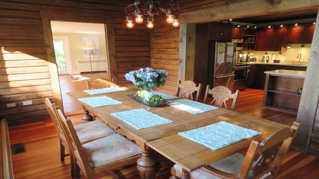Dining area off kitchen 160 Long Pond Drive Harwich Cape Cod - New England Vacation Rentals