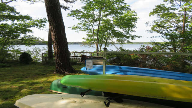 Kayaks available for your use -canoe and sunfish!(at your own risk)-160 Long Pond Drive Harwich Cape Cod - New England Vacation Rentals