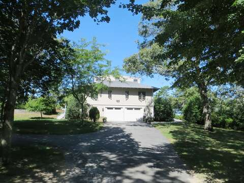 Plenty of parking in the driveway-160 Long Pond Drive Harwich Cape Cod - New England Vacation Rentals