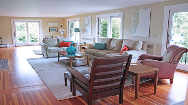 Plenty of comfortable seating 160 Long Pond Drive Harwich Cape Cod - New England Vacation Rentals