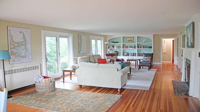 Living room with 270 degree view of Long Pond!160 Long Pond Drive Harwich Cape Cod - New England Vacation Rentals