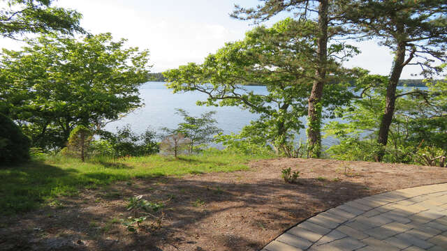 Plenty of walkways around the house overlooking the beautiful water view! 160 Long Pond Drive Harwich Cape Cod - New England Vacation Rentals