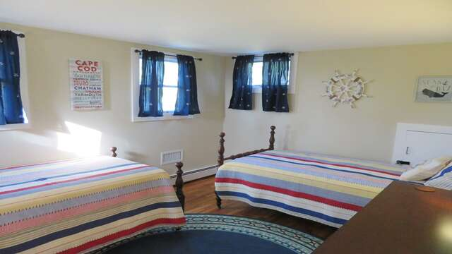 Another view-3rd bedroom - 2nd floor- 2 Twins-160 Long Pond Drive Harwich Cape Cod - New England Vacation Rentals