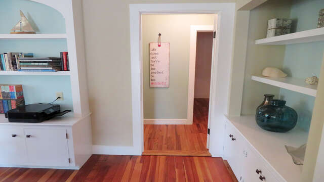 Entry from Living area to one of the master bedrooms on the 1st floor-160 Long Pond Drive Harwich Cape Cod - New England Vacation Rentals