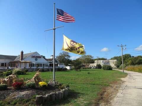 Just 1.3 miles from the house! Captain Parkers Pub - award winning chowder - right in front of the Whidah Museum! Yarmouth Cape Cod - New England Vacation Rentals