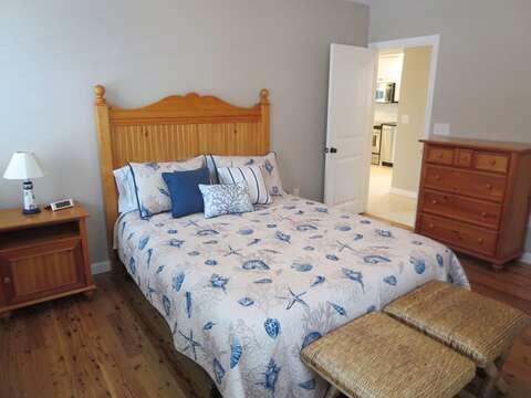 1st floor bedroom with queen bed - 9 Wilfin Road South Yarmouth Cape Cod - New England Vacation Rentals