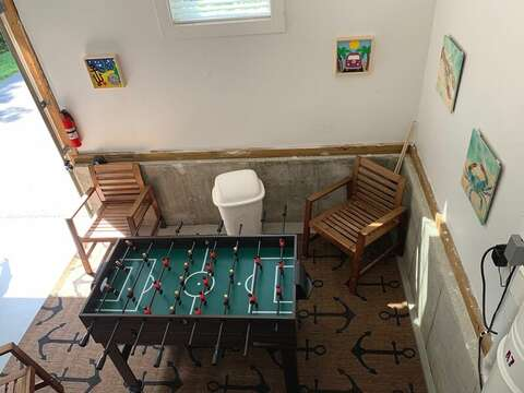 9 Wilfin Road South Yarmouth Cape Cod - New England Vacation Rentals New Game Room Area