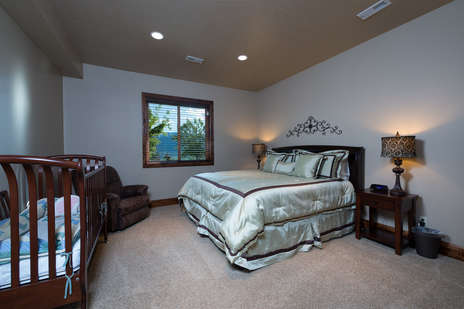 2nd master bedroom located on the lower level