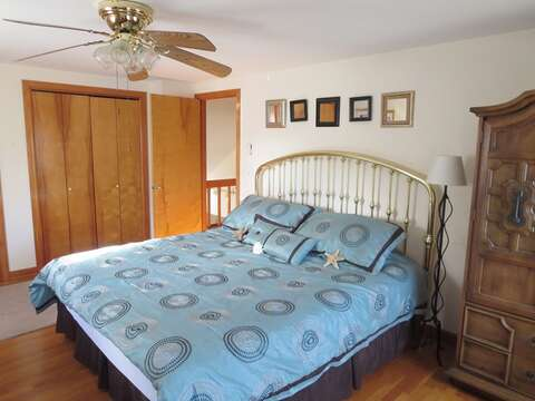 2nd floor bedroom - King -a/c unit-  180 Hardings Beach Road Chatham Cape Cod - New England Vacation Rentals