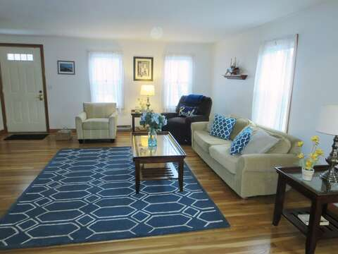 Coastal decor-New Wood Floors throughout- 180 Hardings Beach Road Chatham Cape Cod - New England Vacation Rentals