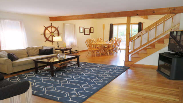 Enter The Cape Escape! All New wood floors-Open concept living- 180 Hardings Beach Road Chatham Cape Cod - New England Vacation Rentals