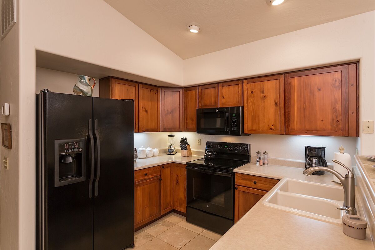 Kitchen ~ Well Equipped Space