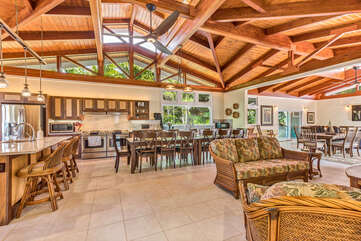 Photo of the living and dining area displaying the open Concept Living.