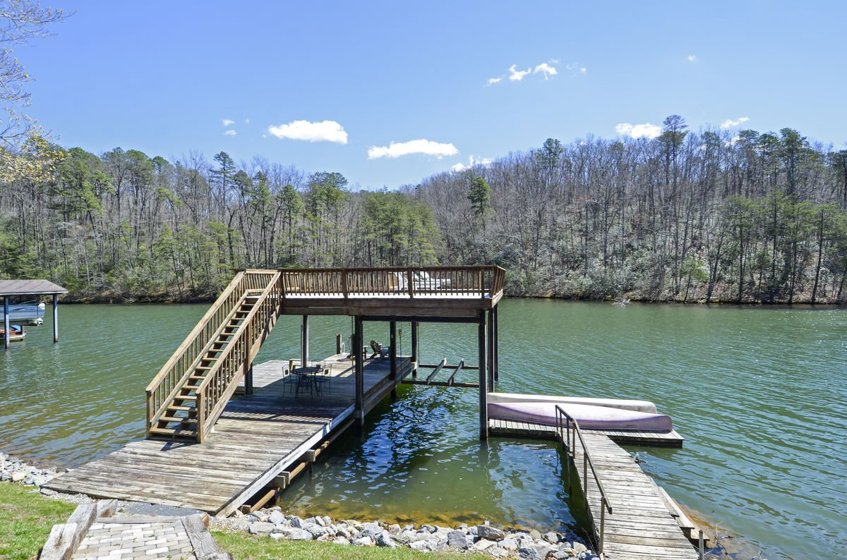 Image of Large Two Story Dock.