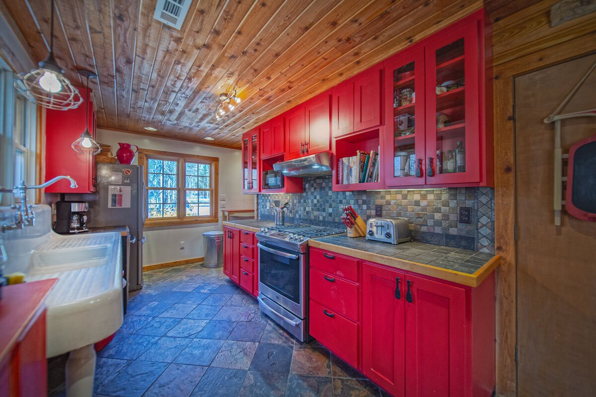 Enjoy Plenty of Cabinet and Counter Space in Kitchen.
