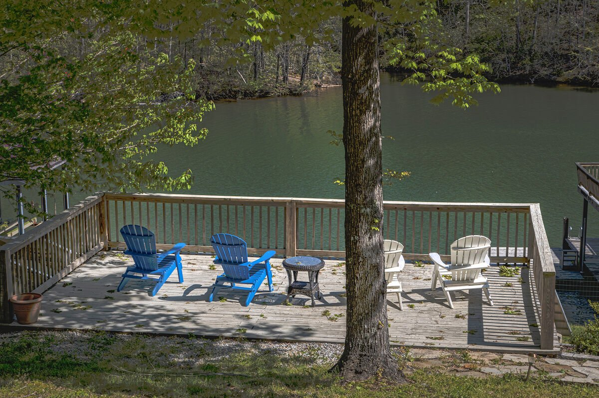 Image of Second Dock with Chairs.