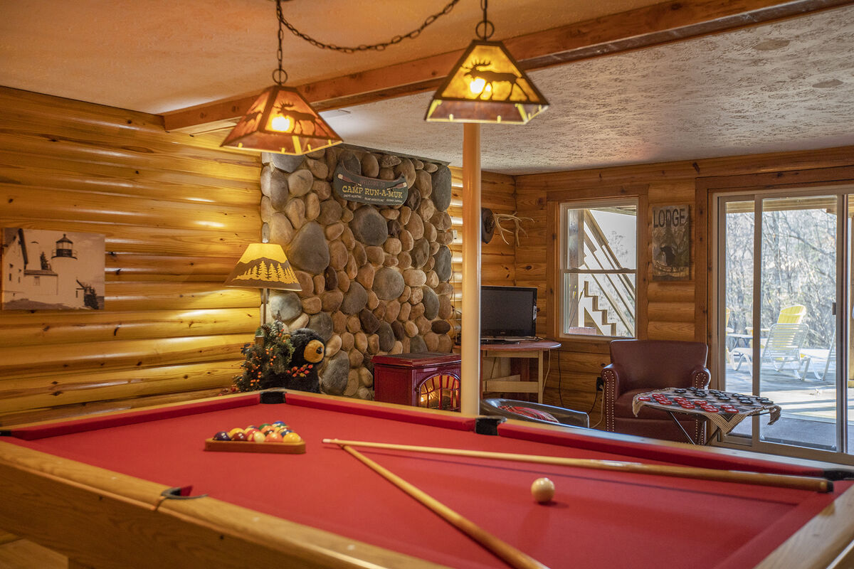 Play Pool Downstairs