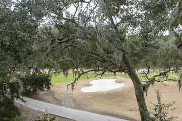 Wonderful golf course views.  How many deer will you spot?