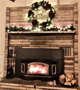 Martin's Getaway Fireplace