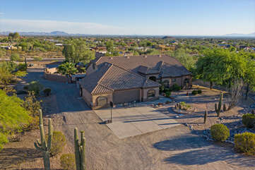 Our stunning and exclusive NE Mesa home with resort amenities could be YOURS for the vacation of  a lifetime.