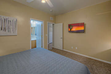 Third, fourth and fifth bedrooms have Smart TVs for your viewing pleasure.