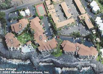 Sea Village Complex Map/*note the tennis court has been removed