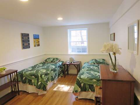 Bedroom #5 with 2 Twin beds - 44 Cranberry Way Chatham Cape Cod - New England Vacation Rentals