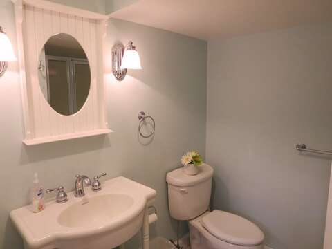 Bathroom #2 with a shower on the lower level - 44 Cranberry Way Chatham Cape Cod - New England Vacation Rentals