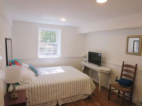 Another look at Bedroom #4, which also offers a flat screen TV - 44 Cranberry Way Chatham Cape Cod - New England Vacation Rentals