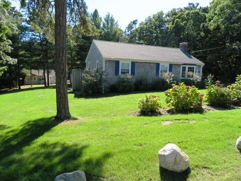 Relax in the front yard - 44 Cranberry Way Chatham Cape Cod - New England Vacation Rentals
