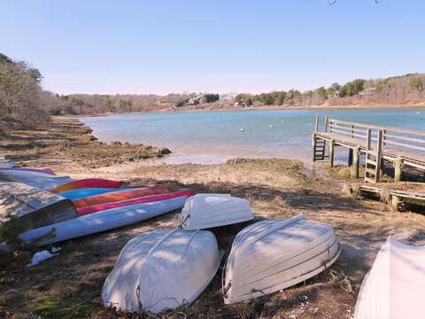 Easy access to Taylors Pond (a saltwater inlet of Nantucket Sound) Just 0.4 mile away! - Chatham Cape Cod - New England Vacation Rentals