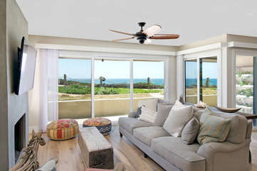 Decorated to perfection with an ocean view. Large flat screen Smart TV.