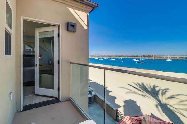 Bayfront Balcony with Amazing View at our San Diego Vacation Rental