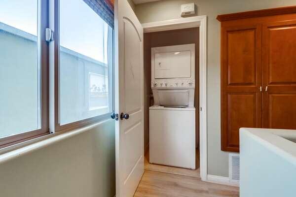 Washer & Dryer - 2nd Floor