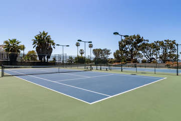 Tennis courts within the complex. Guest have access to this area.