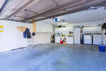 You can park up to 1 vehicle in the garage. This home also has a washer and dryer onsite.