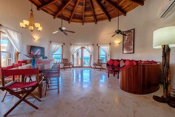 Indigo Belize 1C  Living Room