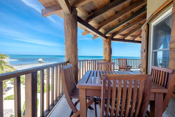 Indigo Belize 1C Beach Front View 3rd Floor