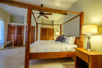 Indigo Belize 4A Master Bedroom