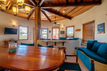 Indigo Belize 4A Dining Area