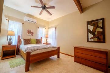 Indigo 4A, third bedroom with Queen bed